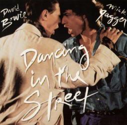 David Bowie and Mick Jagger - Dancing In The Street 12 inch vinyl single.