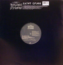 The Rolling Stones - Saint Of Me 12 inch Vinyl Double-Pack promo.