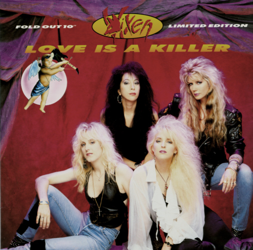 Vixen - Love Is A Killer, 10 inch vinyl record.