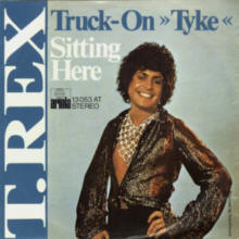 T.Rex - Truck on Tyke, 7 inch vinyl single in German Picture Sleeve.