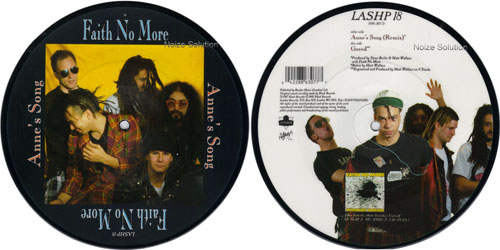Faith No More - Annies Song 7 inch vinyl Picture Disc Record.