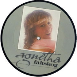 Agnetha Faltskog - The Heat Is On 7 inch vinyl Picture Disc Record.