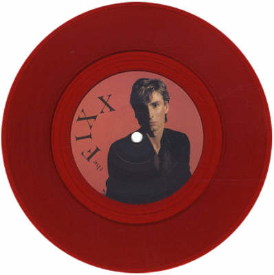 The Fixx - Red Skies 7 inch vinyl coloured record.