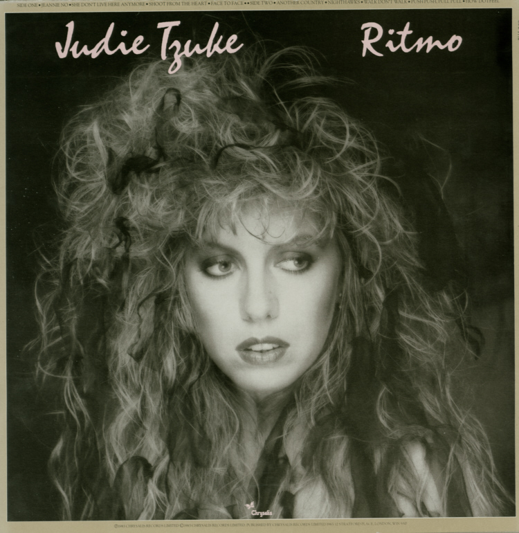 Judie Tzuke - Ritmo vinyl lp record in picture sleeve 2.