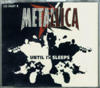 Metallica - Until It Sleeps CD Single.