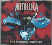 Metallica - The Memory Remains CD Single.