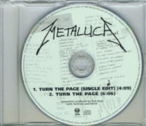 Metallica - Turn The Page promo CD Single.