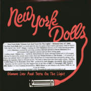 New York Dolls - Gimme Luv And Turn On The Light - Promo CD single.