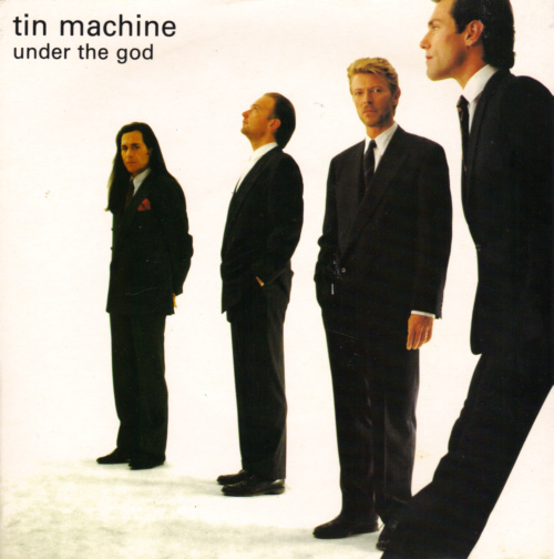 Tin Machine - Under The God, 7 inch vinyl record in picture sleeve.