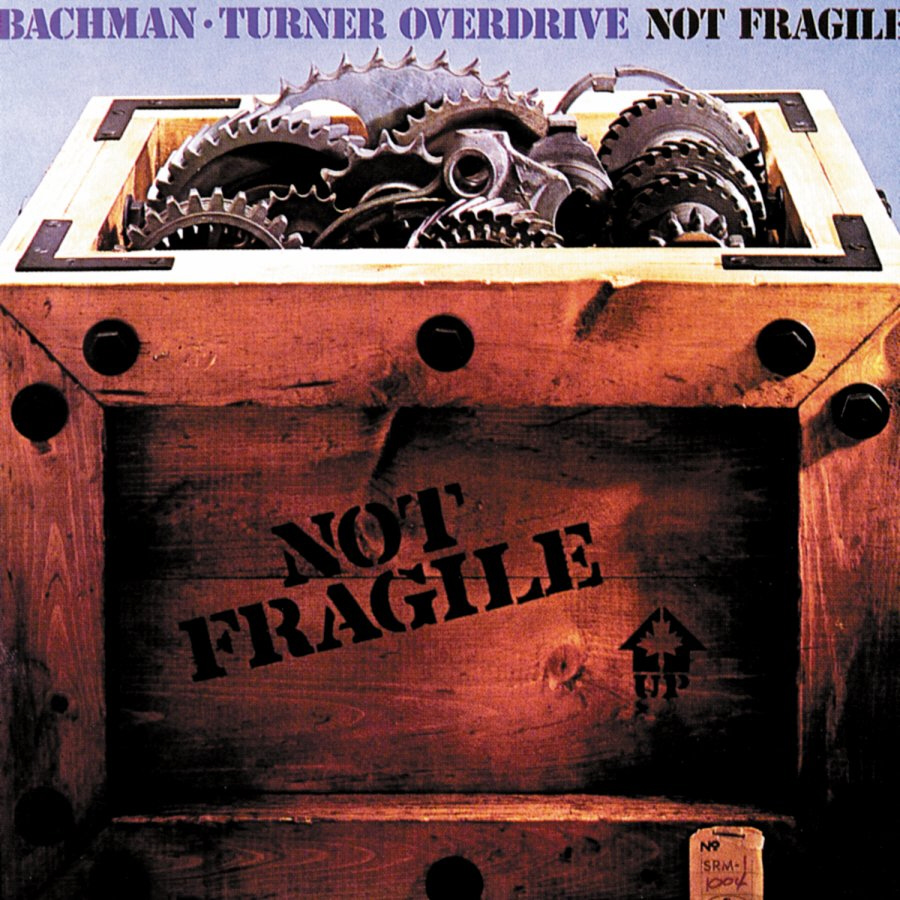 Bachman Turner Overdrive - Not Fragile 180 Gram vinyl LP.