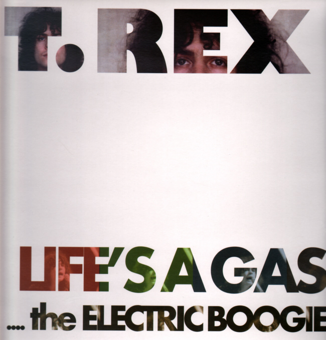 MARC BOLAN AND T.REX - Life's A Gas The Electric Boogie, yellow vinyl LP Front Sleeve.