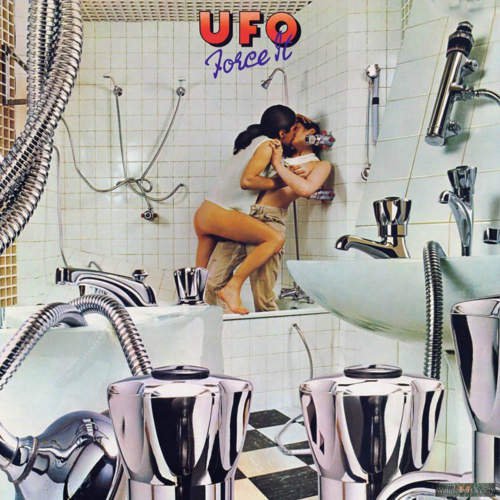 UFO - Force It Double Coloured vinyl LP.