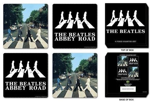 The Beatles - Drinks Coasters officially licensed Gift Box.