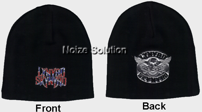 Lynyrd Skynyrd - Confederate Logo, Officially Licensed Beanie Ski Hat.