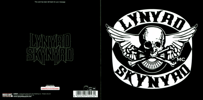 Lynyrd Skynyrd - MC Motorcycle Club officially licensed Greeting Card.