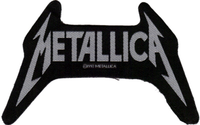 Metallica - Shaped Logo - Officially Licensed Woven Patch.