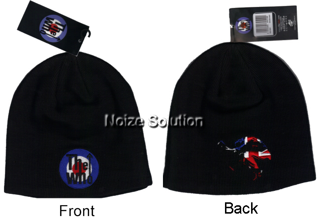 The Who - Mod Target Logo, Officially Licensed Beanie Ski Hat.