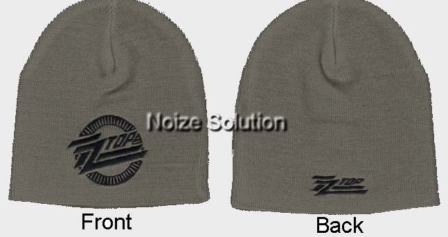 ZZ Top - Classic Logo, Officially Licensed beanie Ski Hat.