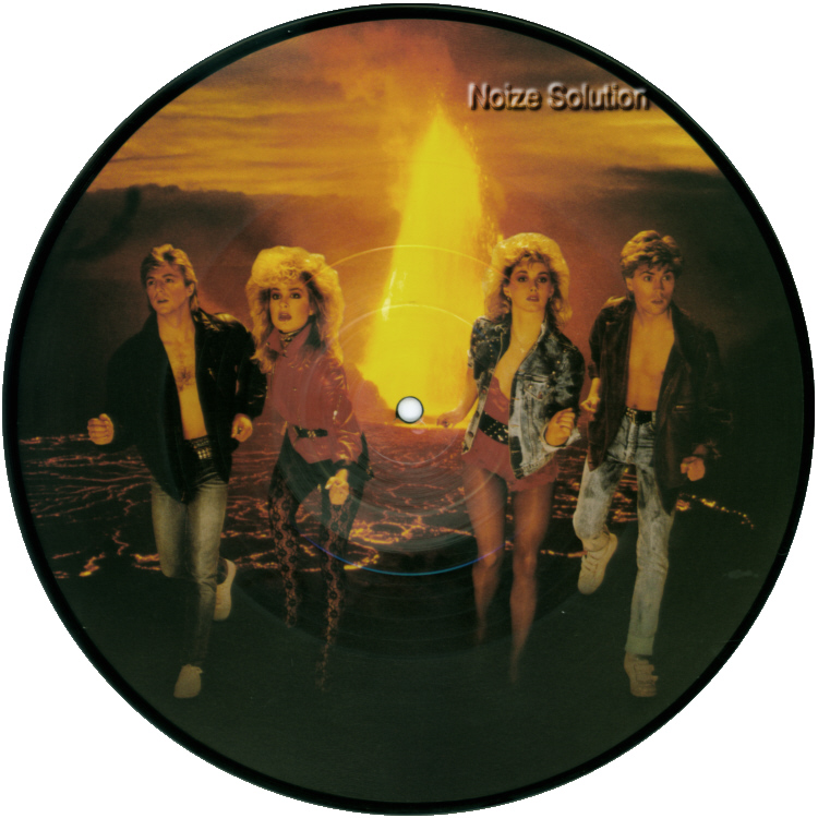Bucks Fizz Run For Your Life inch vinyl Picture Disc Record Side 1 BucksFizz.