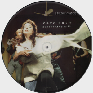 Kate Bush - Rubberband Girl, 12 inch vinyl Picture Disc single side 1.