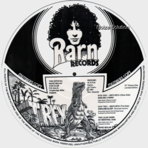 MARC BOLAN AND T.REX - Sing Me A Song, 12 inch vinyl single side 2.