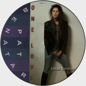 Pat Benatar One Love 12 inch vinyl Picture Disc Record Side 1.