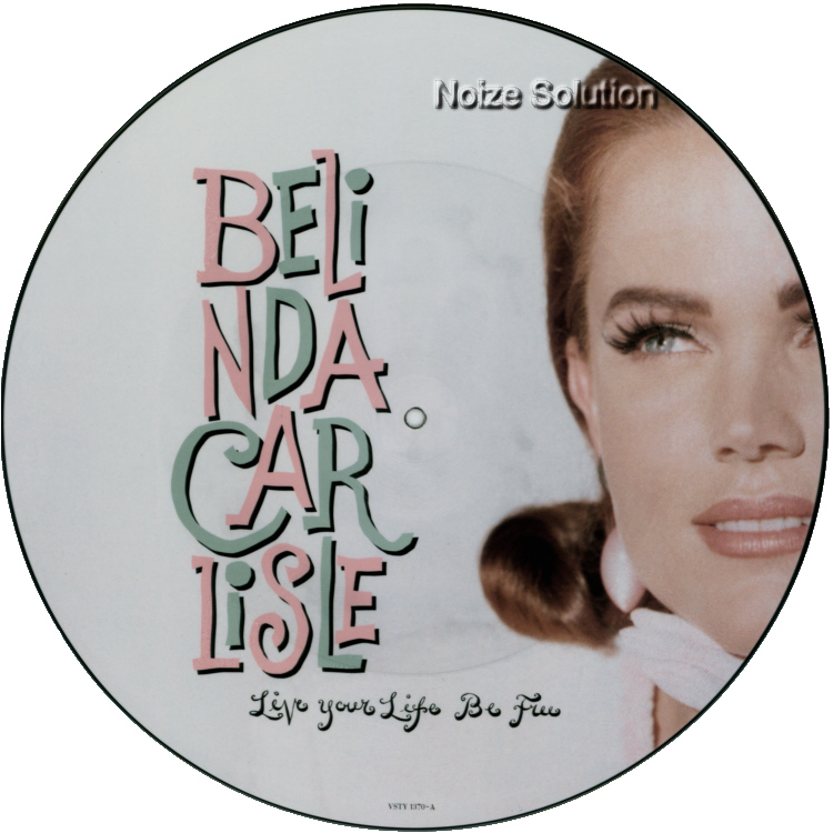 Belinda Carlisle - Live Your Life Be Free vinyl 12 inch Picture Disc Record Side 1 BelindaCarlisle.