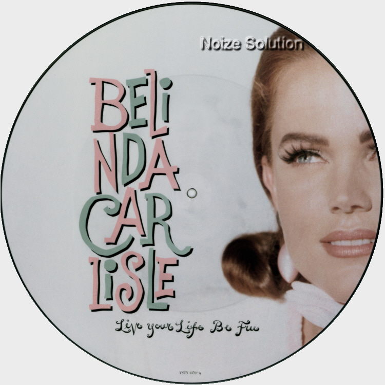 Belinda Carlisle - Live Your Life Be Free vinyl 12 inch Picture Disc Record Side 1.