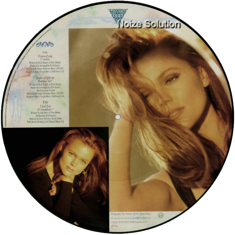Belinda Carlisle - Vision Of You vinyl 12 inch Picture Disc Record Side 2.