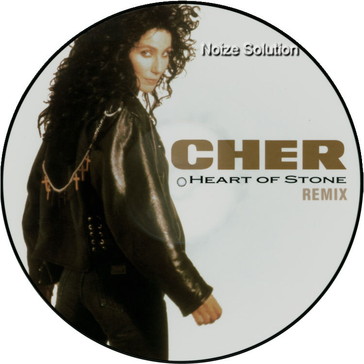 Cher Heart Of Stone 12 INCH VINYL PICTURE DISC Record Side 1.