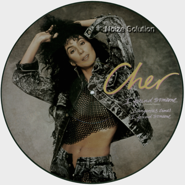 Cher I Found Someone 12 INCH VINYL PICTURE DISC Record Side 1.