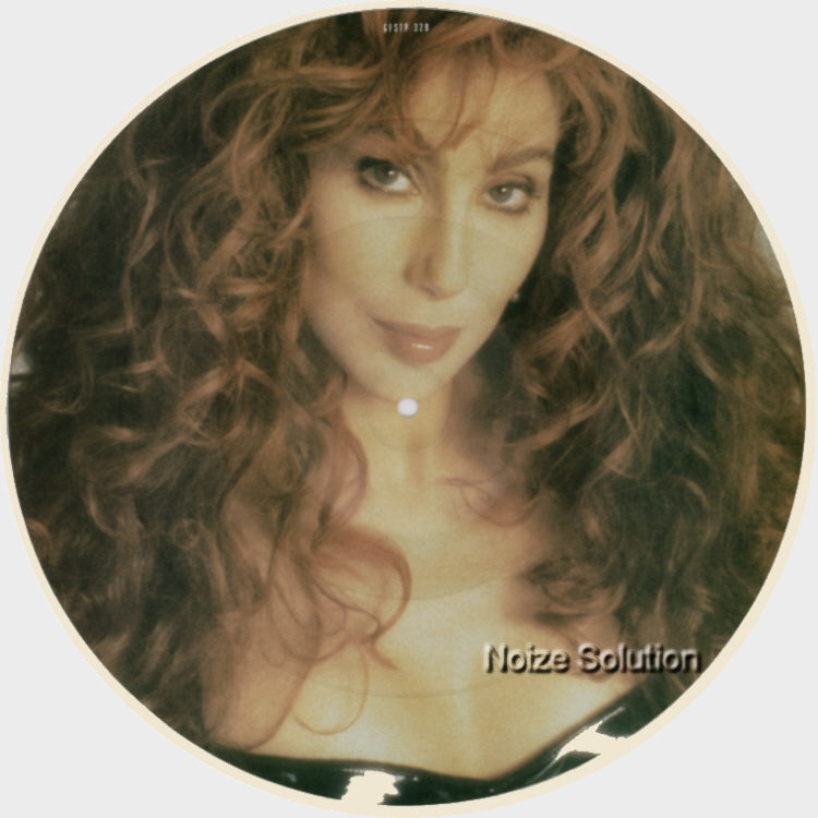 Cher Whenever You're Near 12 INCH VINYL PICTURE DISC Record Side 2.