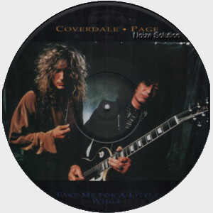 Whitesnake - Take Me For A Little While vinyl 12 inch Picture Disc Record Side 1.