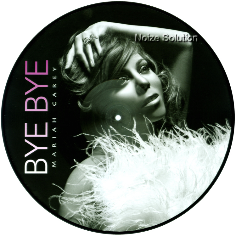 Mariah Carey - Bye Bye, 12 inch vinyl Picture Disc record Side 1.