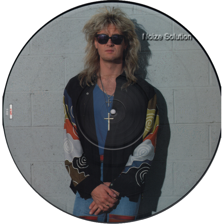 Def Leppard (Joe Elliot)- Heaven Is vinyl 12 inch Picture Disc Record Side 2.