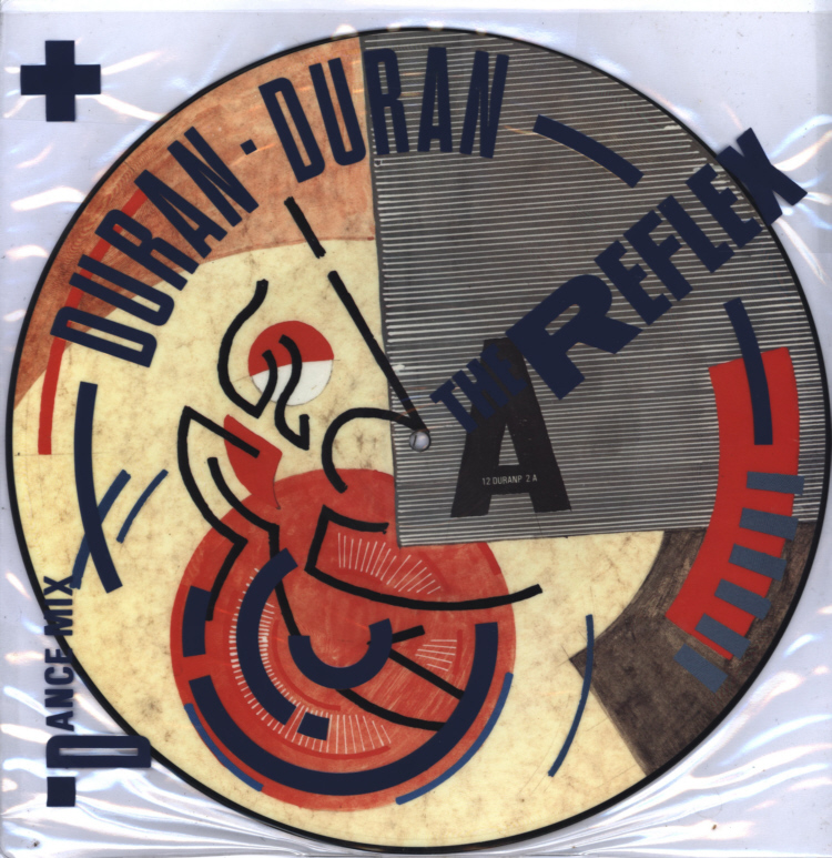 Duran Duran - The Reflex 12 inch Insert Back.