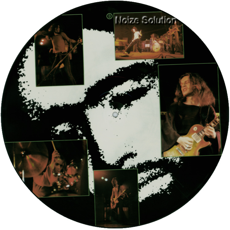 Free - All Right Now - 12 inch Vinyl interview picture disc side 2.