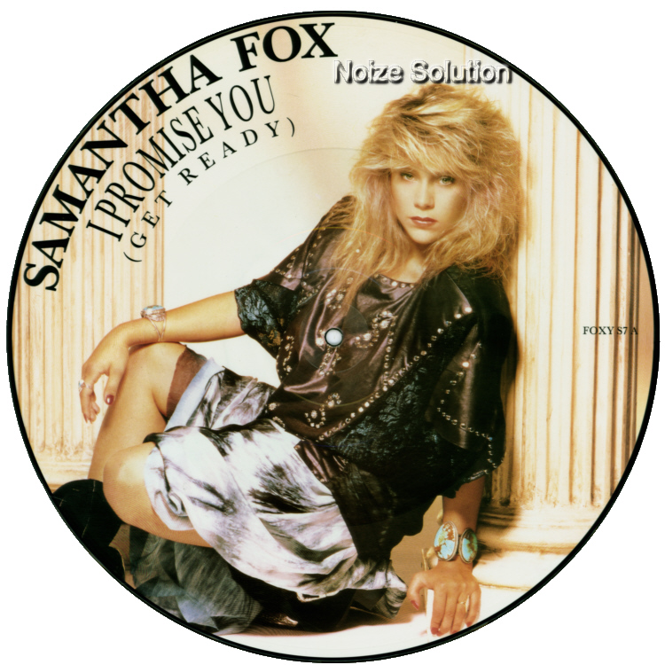 Sam Samantha Fox - I Promise You, 12 inch vinyl picture disc single side 1.