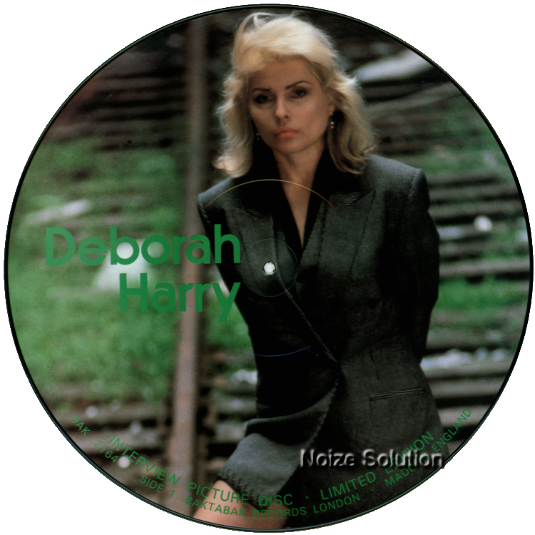 Debbie Harry Interview 12 inch vinyl Picture Disc Record Side 1 DebbieHarry BlondieBlondie.