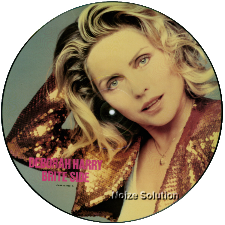Debbie Harry - Brite Side, 12 inch vinyl Picture Disc record side 1.