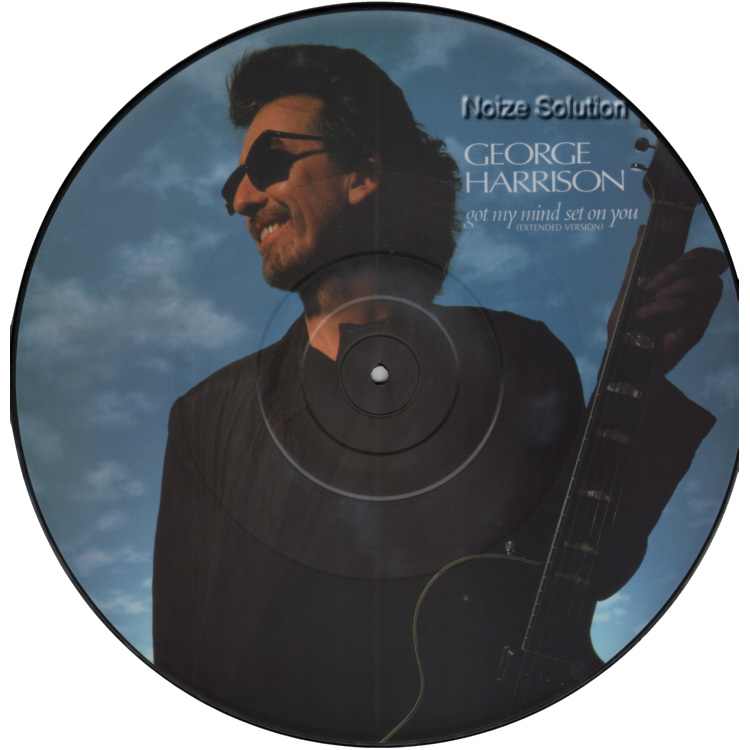 George Harrison - Got My Mind Set On You vinyl 12 inch Picture Disc Record Side 1.