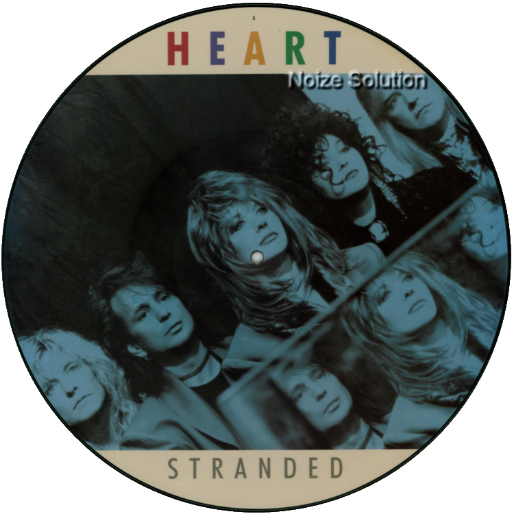 Heart Stranded 12 inch vinyl Picture Disc Record Side 1.