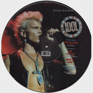 Billy Idol - Prodigal Blues vinyl 12 inch Picture Disc Record Side 2.