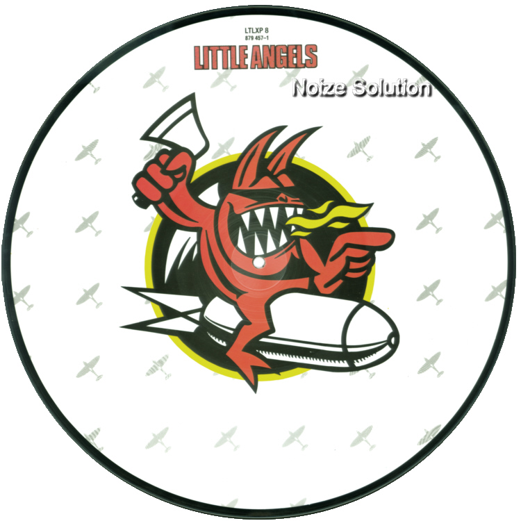 Little Angels – Boneyard, 12 inch vinyl Picture Disc record Side 1.