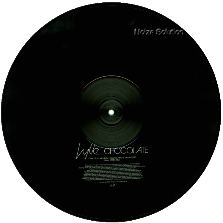 Kylie Minogue - Chocolate Picture Disc Side 2