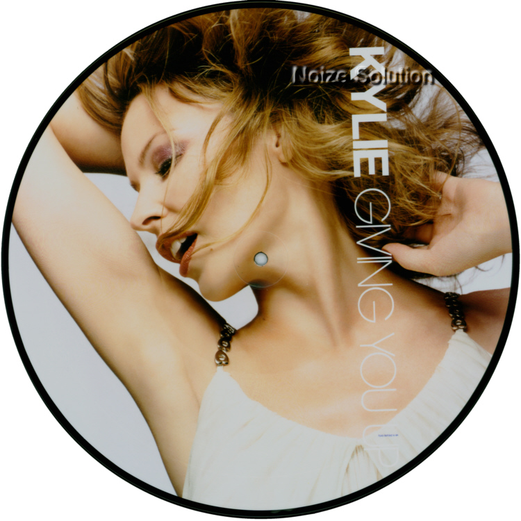 Kylie Minogue - Giving It Up 12 inch Picture Disc Side 1.