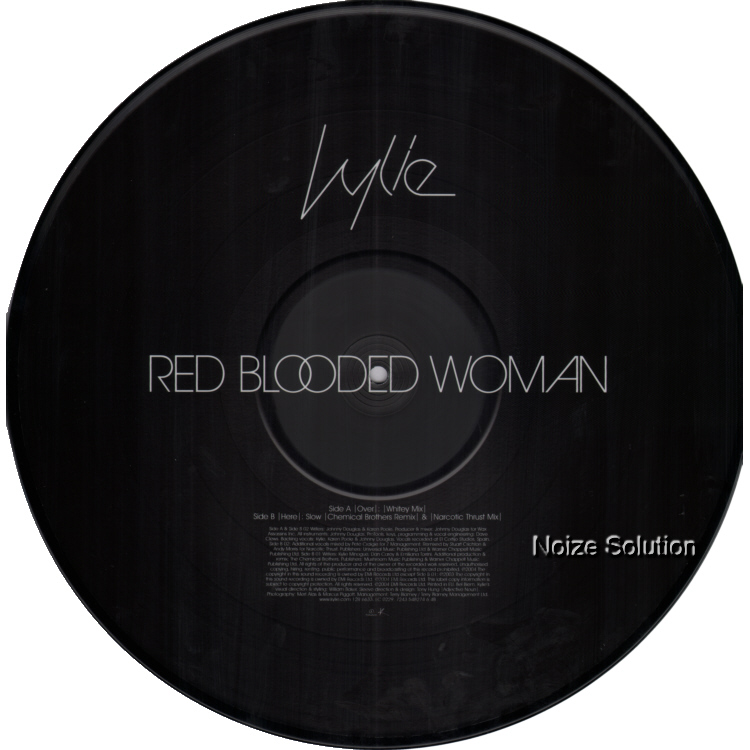Kylie Minogue - Red Blooded Woman 12 inch Picture Disc Side 2