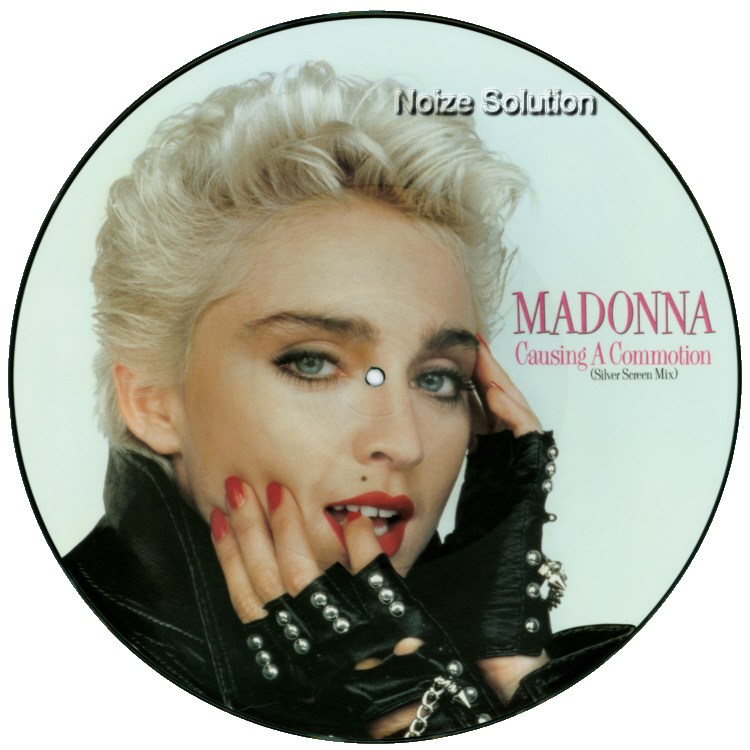 Madonna - Causing A Commotion 12 inch vinyl Picture Disc Record Side 1 MadonnaMadonna.