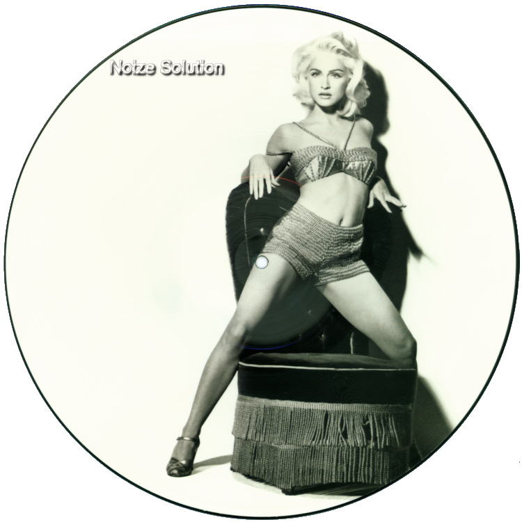 Madonna - Deeper And Deeper vinyl 12 inch Picture Disc Record Side 1 MadonnaMadonna.