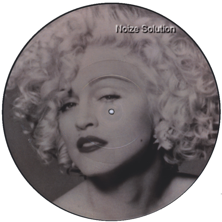Madonna - Hanky Panky vinyl 12 inch Picture Disc Record Side 1 MadonnaMadonna.